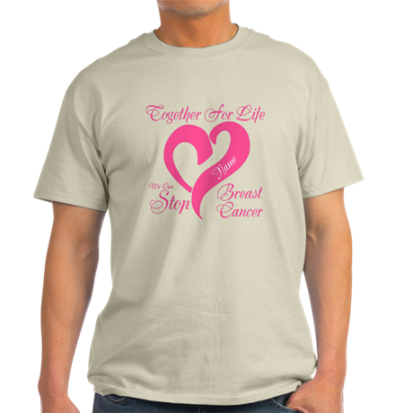 Personalize Front Light T-Shirt