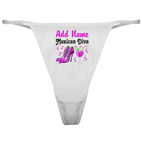 MEXICAN DIVA Classic Thong