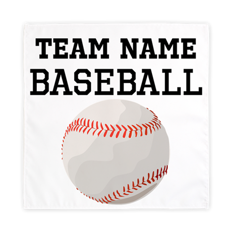 (Team Name) Baseball Cloth Napkins