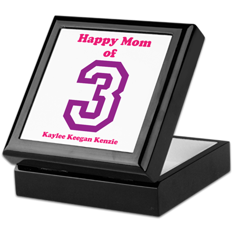 Personalized Mother Keepsake Box