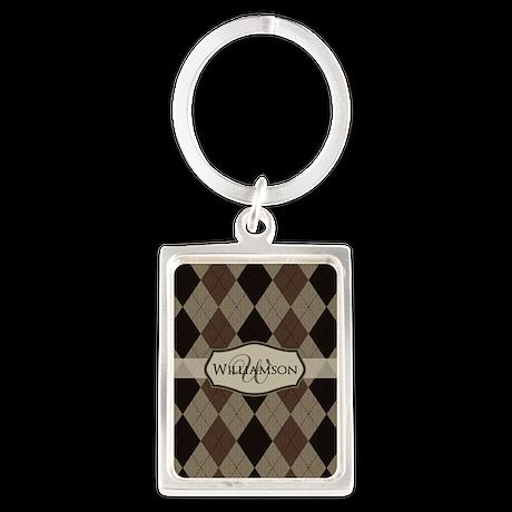 Custom Pattern Keychain