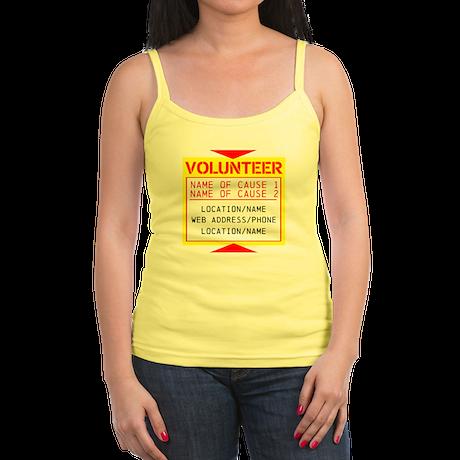 Volunteer Clean-Up Jr. Spaghetti Tank