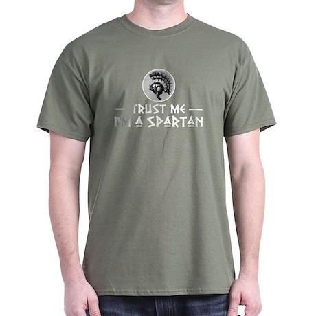 Trust Me I'm a Spartan Dark T-Shirt