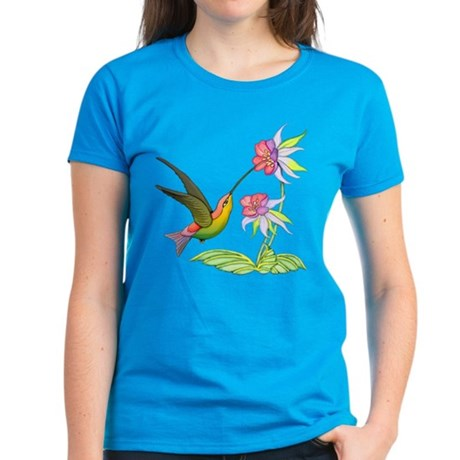Hummingbird Flight Women's Dark T-Shirt