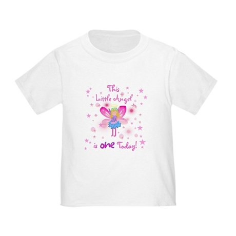 Birthday Angel 1st Birthday Toddler T-Shirt
