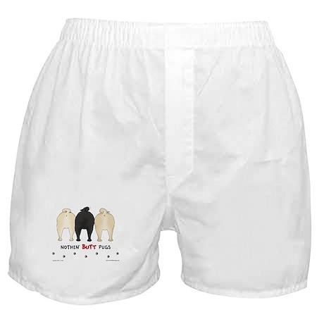 Nothin' Butt Pugs Boxer Shorts