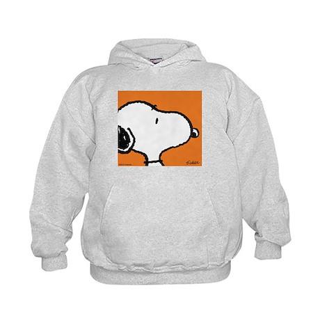 Fresh Orange Snoopy Kids Hoodie