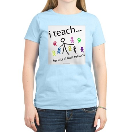 i teach ...little reasons Women's Light T-Shirt