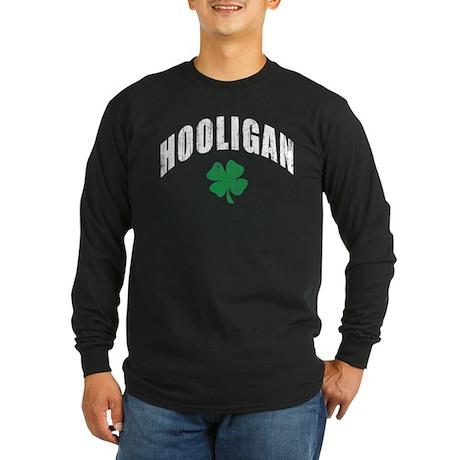 Irish Hooligan Long Sleeve Dark T-Shirt