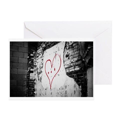 Pierced Heart Valentine's Day Cards (Pk of 10)