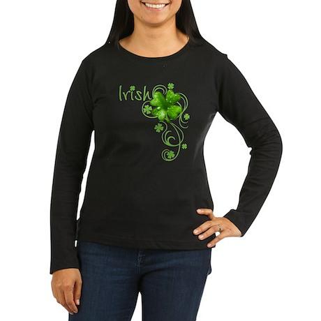 Irish Keepsake Women's Long Sleeve Dark T-Shirt