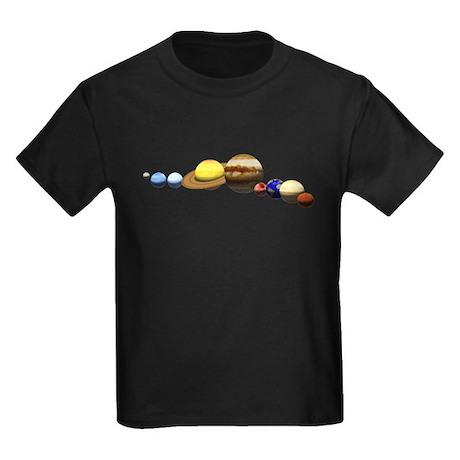 Solar System Kids Dark T-Shirt