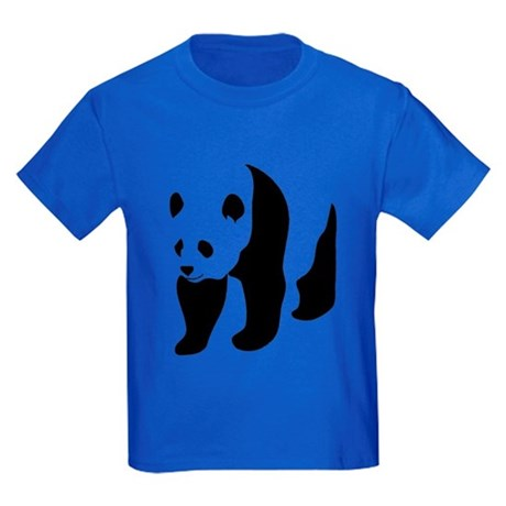 Giant Panda Bear Kids Dark T-Shirt