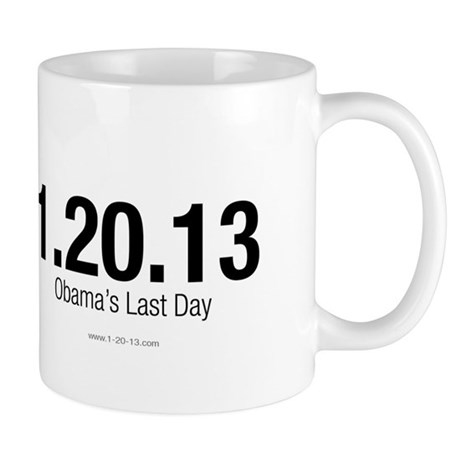 Obama's Last Day Discount Mug