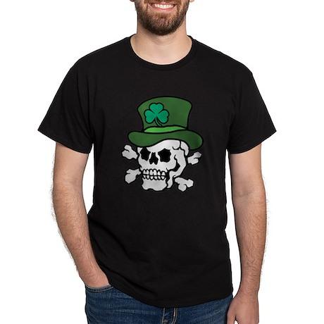 Skull Leprechaun Dark T-Shirt