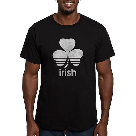 Vintage Irish Logo Men's Fitted T-Shirt (dark)