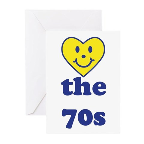 Love 70s Greeting Cards (Pk of 20)