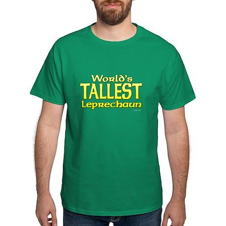 World's Tallest Leprechaun Dark T-Shirt