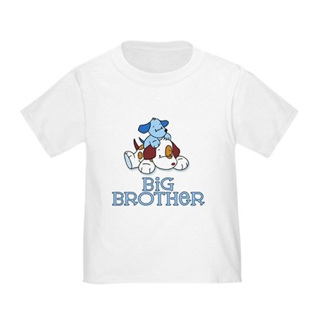 Cute Puppys Big Brother Toddler T-Shirt