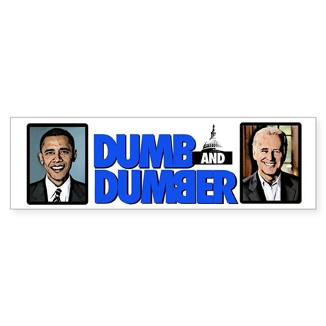 Halloween Costumes | Halloween Dumb and Dumber Bumper Sticker