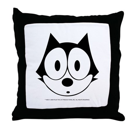 Felix Oops Throw Pillow