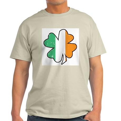 Vintage Irish Shamrock Light T-Shirt