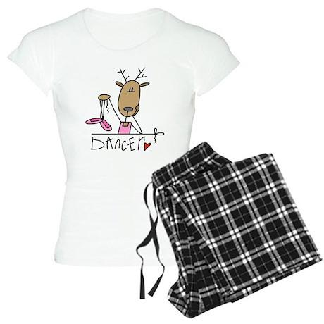 Dancer Reindeer Women's Light Pajamas