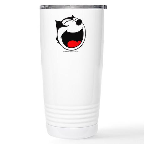Felix Laughing Ceramic Travel Mug