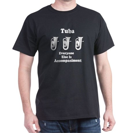 Tuba Gift Dark T-Shirt