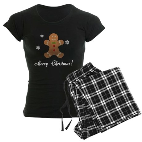 Gingerbread Merry Christmas Pajamas