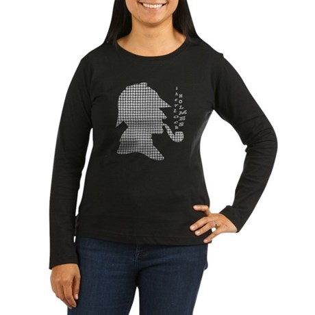 Sherlock Holmes - Women's Long Sleeve Dark T-Shirt