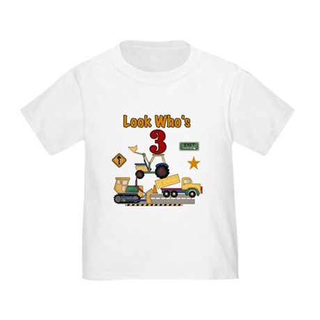 Construction 3rd Birthday Infant/Toddler T-Shirt