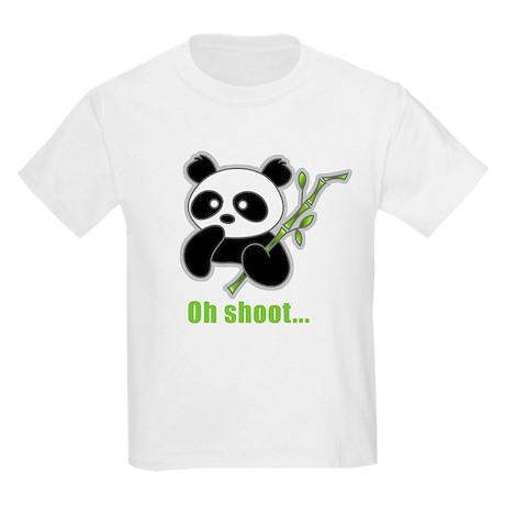 Oh Shoot! Panda Kids Light T-Shirt
