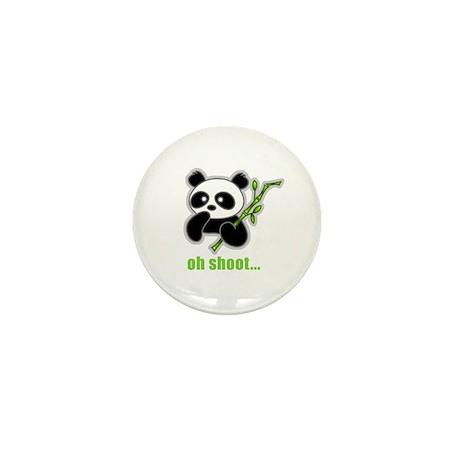 Oh Shoot! Panda Mini Button