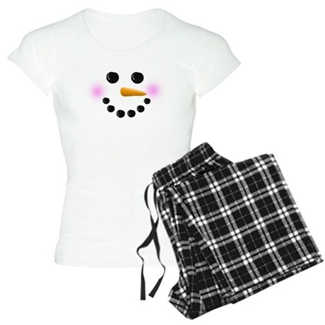 Christmas Snowman Pajamas for Women