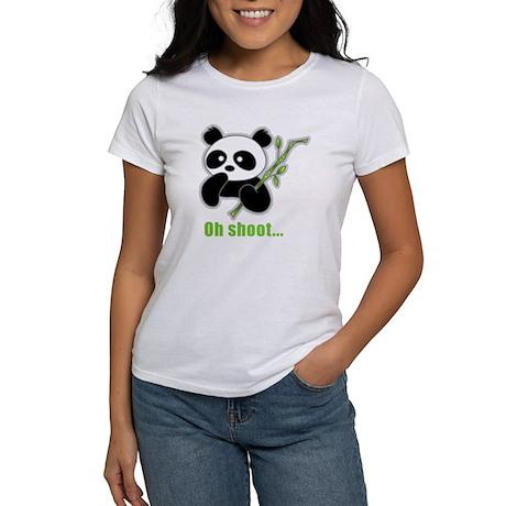 Oh Shoot! Panda Women's T-Shirt