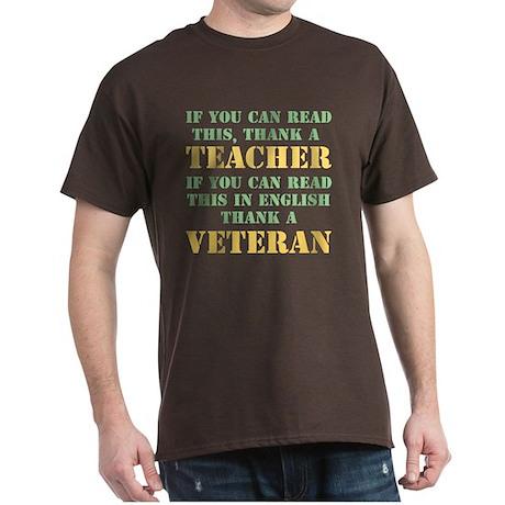 If you can read this thank teacher Dark T-Shirt