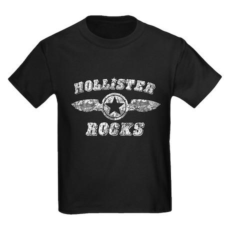 HOLLISTER ROCKS Kids Dark T-Shirt