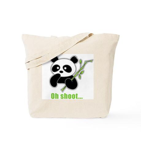 Oh Shoot! Panda Tote Bag