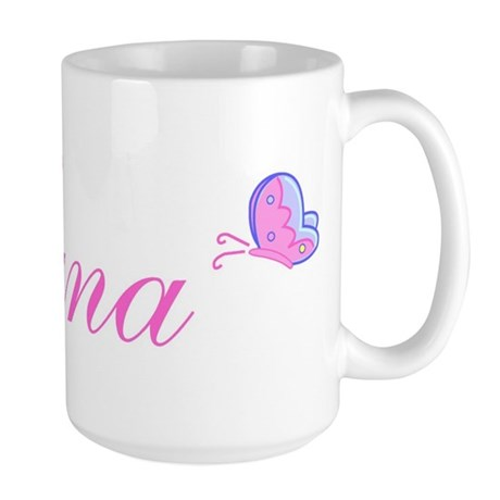 Nana Butterflies Large Mug
