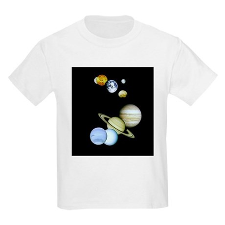Our Solar System Montage Kids T-Shirt
