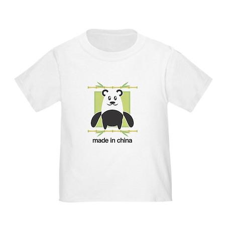 Made in China Panda Toddler T-Shirt